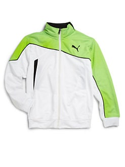 Puma Active - Boy's Tricot Angle Jacket