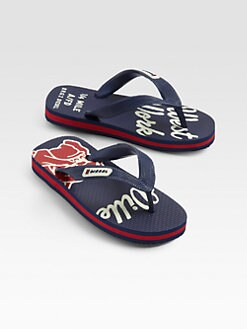 Diesel - Toddler's & Boy's Maya Printed Flip Flops