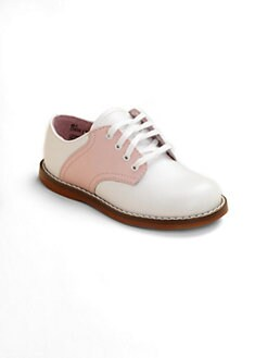 Footmates - Infant's, Toddler's & Kid's Leather Saddle Oxford