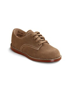 Footmates - Infant's, Toddler's & Kid's Red-Sole Sueded Oxfords