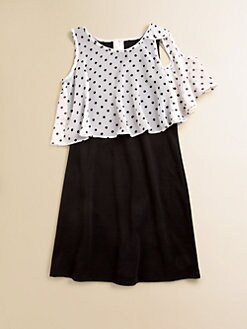 Kiddo - Girl's Polka Dot Dress