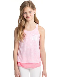 Splendid - Girl's Layered-Effect Tank Top