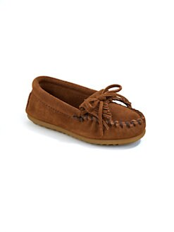 Minnetonka - Toddler's, Girl's & Boy's Kilty Suede Moccasins