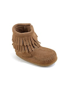 Minnetonka - Infant's Double Fringe Boots
