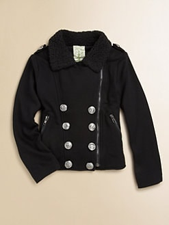 Kiddo - Girl's Double-Breasted Jacket
