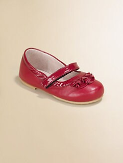 Bloch - Toddler's & Little Girl's Ra Ra Leather Mary Jane Flats
