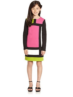 KC Parker by Hartstrings - Girl's Colorblock Shift Dress