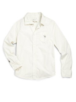 Diesel - Boy's Poplin Button-Down Shirt