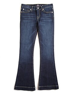 7 For All Mankind - Girl's Bootcut Jeans
