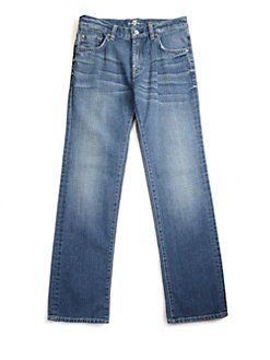 7 For All Mankind - Boy's Medium-Wash Jeans