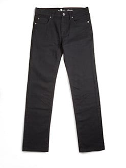 7 For All Mankind - Boy's Dark-Denim Pants