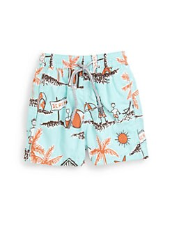 Vilebrequin - Boy's Father's Day Swim Trunks