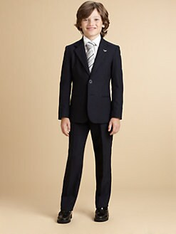 Armani Junior - Boy's Classic Wool Suit