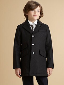 Armani Junior - Boy's Dress Coat