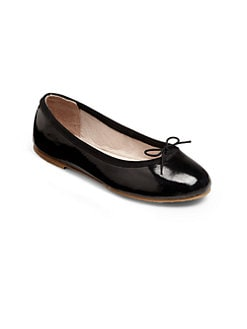 Bloch - Girl's Cha Cha Patent Leather Ballet Flats