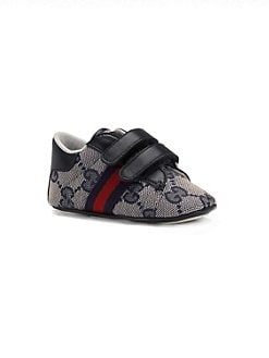 Gucci - Infant's Double Strap Ace Sneakers