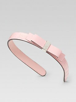 Gucci - Toddler's & Girl's Patent Leather Headband