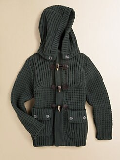 Bark - Boy's Waffle-Stitch Short Coat