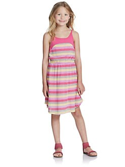 Splendid - Girl's Melange Striped Dress