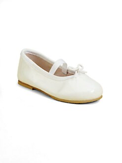 Bloch - Infant's & Toddler's Cha Cha Patent Leather Ballerina Flats