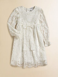 Dolce & Gabbana - Girl's Lace Dress