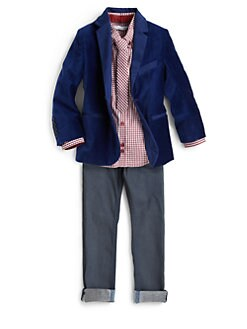 Little Marc Jacobs - Boy's Velvet Blazer