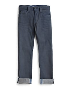 Little Marc Jacobs - Boy's Coated Jeans