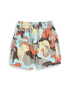 Vilebrequin - Boy's Camo Swim Trunks