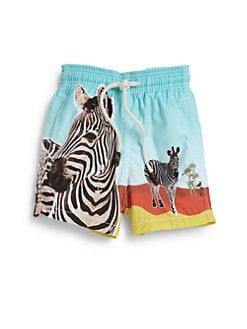 Vilebrequin - Boy's Zebra Swim Trunks