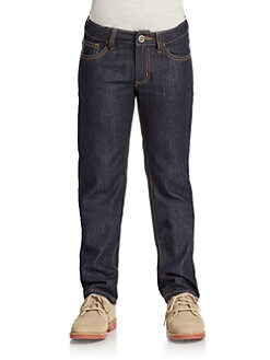 Armani Junior - Boy's Stonewashed Jeans