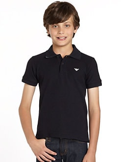 Armani Junior - Boy's Cotton Polo Shirt