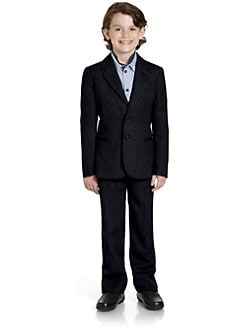 Armani Junior - Boy's Two-Piece Wool Suit
