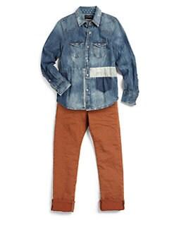 Scotch Shrunk - Boy's Woven Denim Shirt