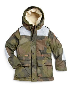 Scotch Shrunk - Boy's Down Puffer Jacket