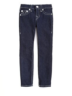 True Religion - Girl's Casey Super Skinny Denim Leggings