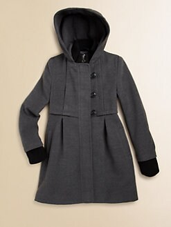 DKNY - Girl's Babydoll Walker Coat
