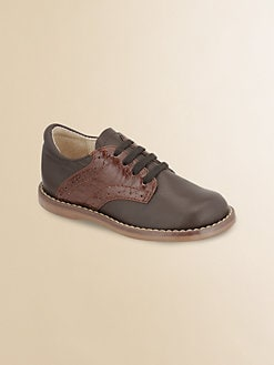Footmates - Infant's, Toddler's & Kid's Leather Oxford Shoes