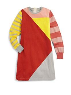 Stella McCartney Kids - Girl's Cotton and Cashmere Corduroy Dress