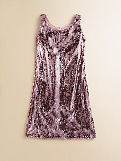 Un Deux Trois - Girl's Sequin Shift Dress