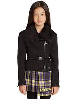 Versace - Girl's Moto Jacket