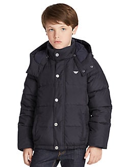 Armani Junior - Boy's Down Puffer Jacket
