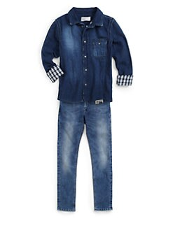 Diesel - Boy's Calety Denim Shirt