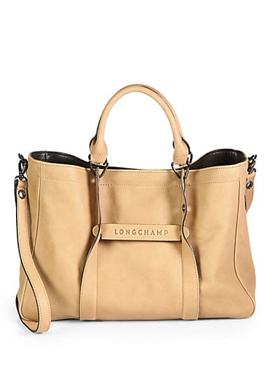3D Small Leather Tote