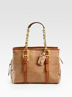 Longchamp - More Is More Mixed-Media Shoulder Bag