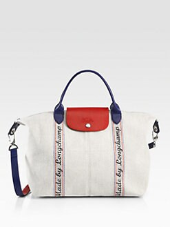 Longchamp - Made by Longchamp Canvas Satchel