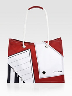 Longchamp - Cruise Printed Nylon Tote