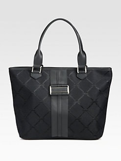 Longchamp - LM Jacquard Shoulder Bag