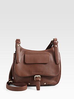 Longchamp - Balzane Flap Crossbody Bag