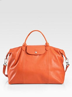 Longchamp - Le Pliage Cuir Large Handbag