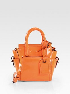 Reed Krakoff - Patent Leather Micro Atlantique Satchel